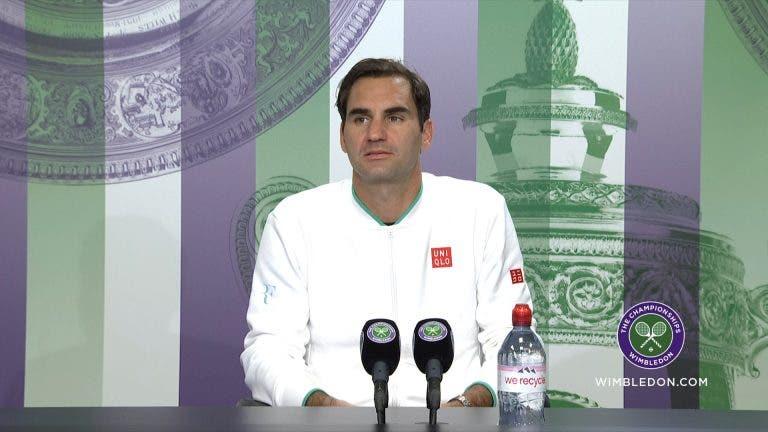 Federer não sabe se volta a Wimbledon e ainda não decidiu sobre os Jogos Olímpicos