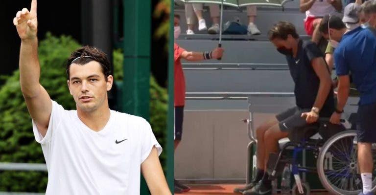 Fritz: foi operado há três semanas e jogou oito sets em 26 horas rumo à 3.ª ronda de Wimbledon