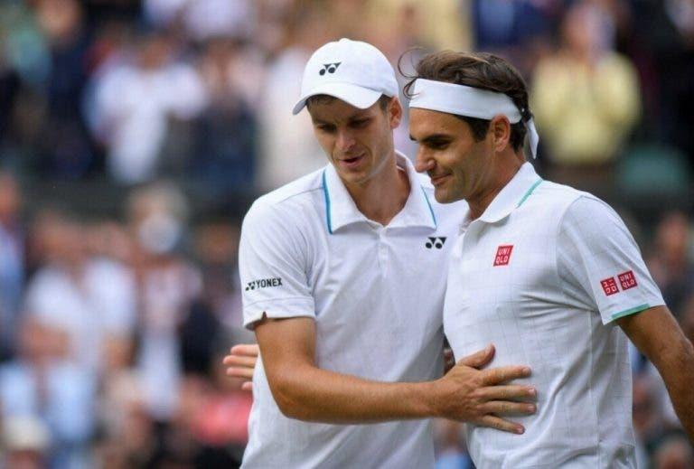 Hurkacz: «Ganhar ao Federer em Wimbledon foi indescritível»
