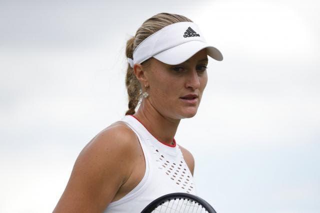 Mladenovic levou a maior multa de Wimbledon devido a insultos… de um familiar