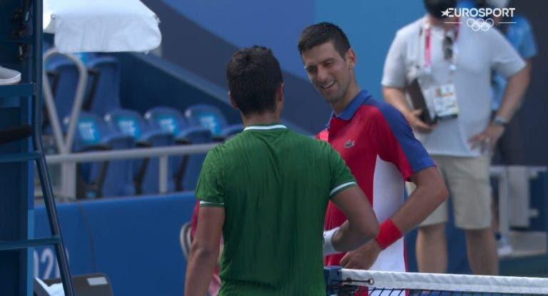 Djokovic entra com vitória fácil nos Jogos Olímpicos