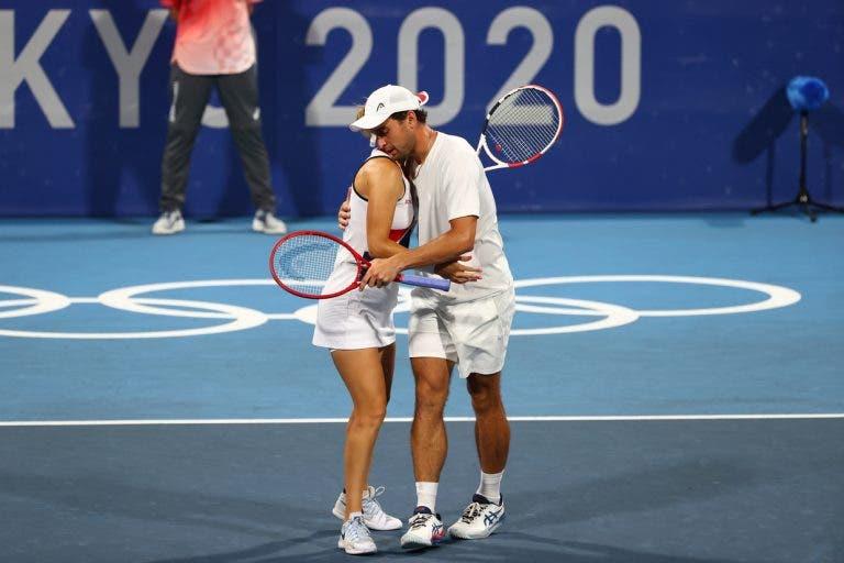 Vesnina e Karatsev dizem que a chave da vitória contra a Sérvia em pares mistos… foi jogar para Djokovic