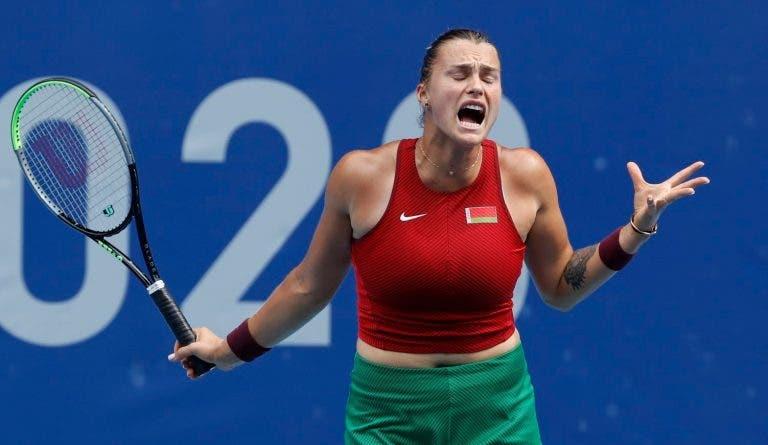 Sabalenka e Kvitova eliminadas dos Jogos Olímpicos