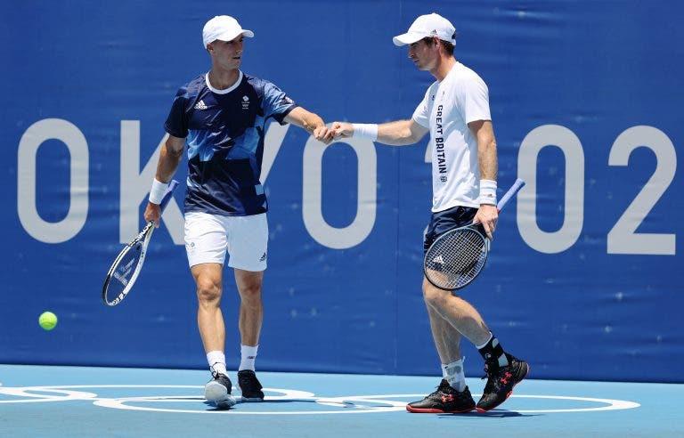 Senhor Olímpicos: Murray elimina Herbert e Mahut na 1.ª ronda de pares