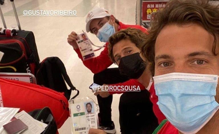 Já chegaram: João e Pedro Sousa já estão em Tóquio para os Jogos