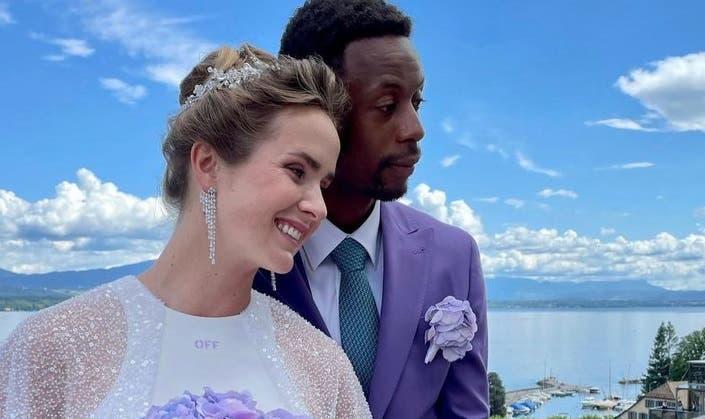 CASARAM! Gael Monfils e Elina Svitolina são marido e mulher