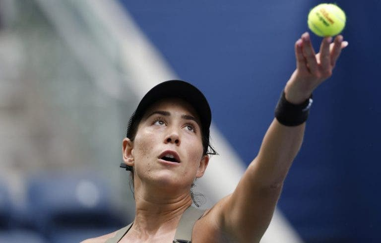 Muguruza desilude e acaba eliminada na estreia em Indian Wells