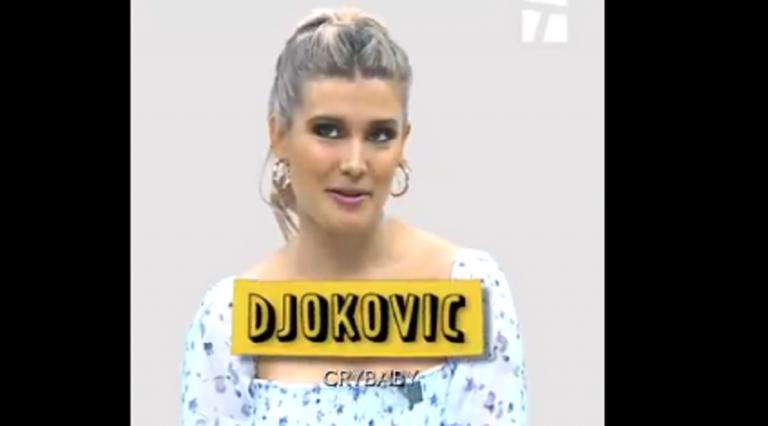 """Genie Bouchard diz que Djokovic é… """"um bebé-chorão"""""""