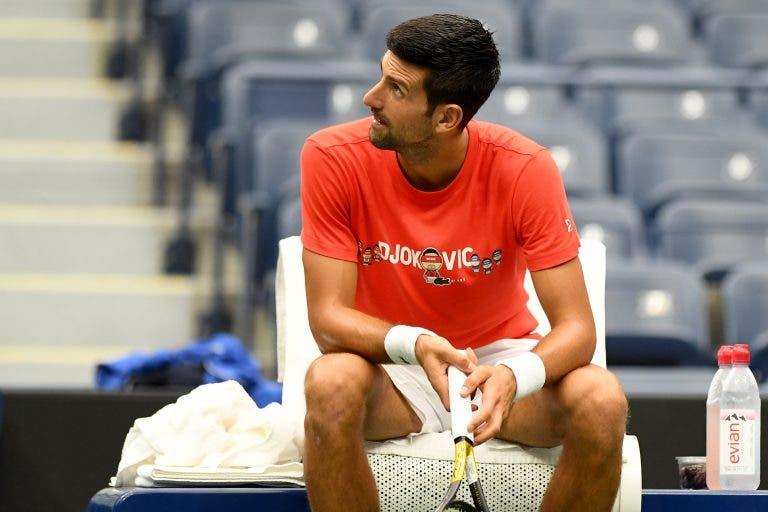 Treino de campeões! Djokovic prepara US Open a treinar com Murray… e a derrotá-lo