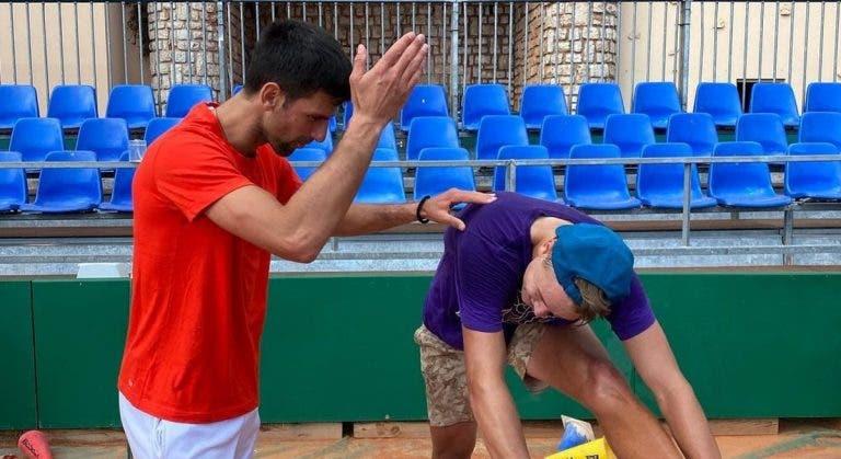 Djokovic já conhece o primeiro obstáculo rumo ao Grand Slam: Rune, de 18 anos e numa série de 13 vitórias seguidas
