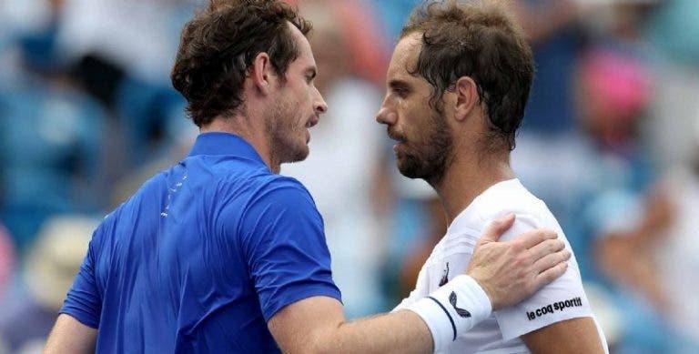 Gasquet passou o qualifying e apanhou… com Murray na primeira ronda