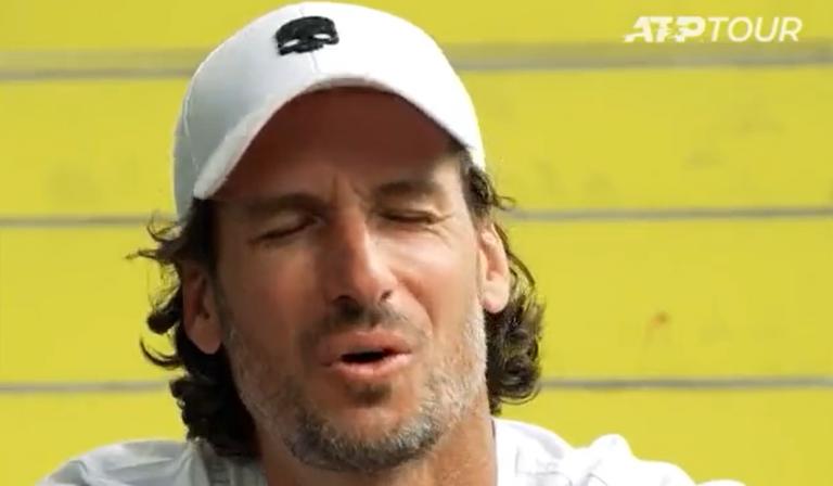[VÍDEO] Feliciano López esqueceu-se de Andy Murray e até soltou… uma asneira!
