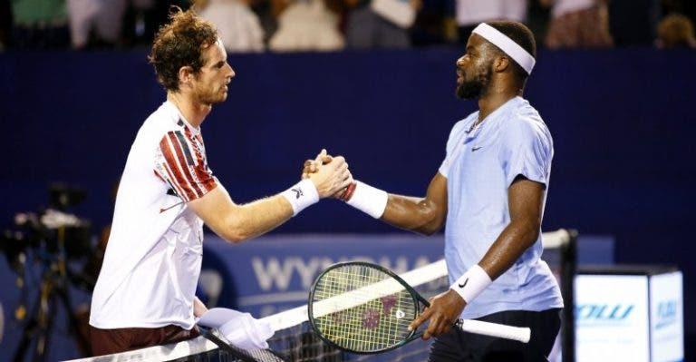 Tiafoe após derrotar Murray: «Continua a jogar, não tens nada a provar»