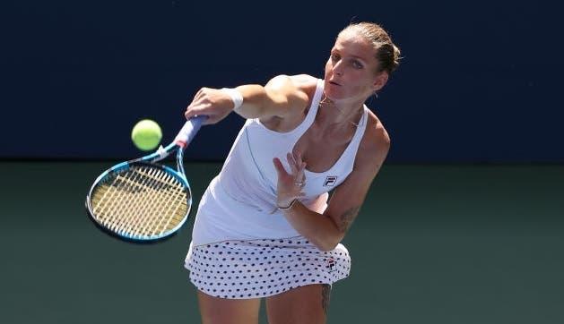 Pliskova e Sakkari entre as primeiras vencedoras do segundo dia no US Open