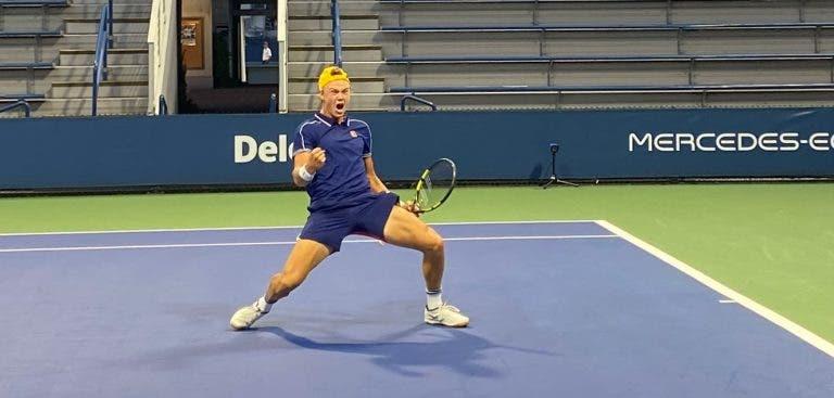 Rune soma 13.ª vitória seguida e vai jogar o seu primeiro quadro de Grand Slam aos 18 anos