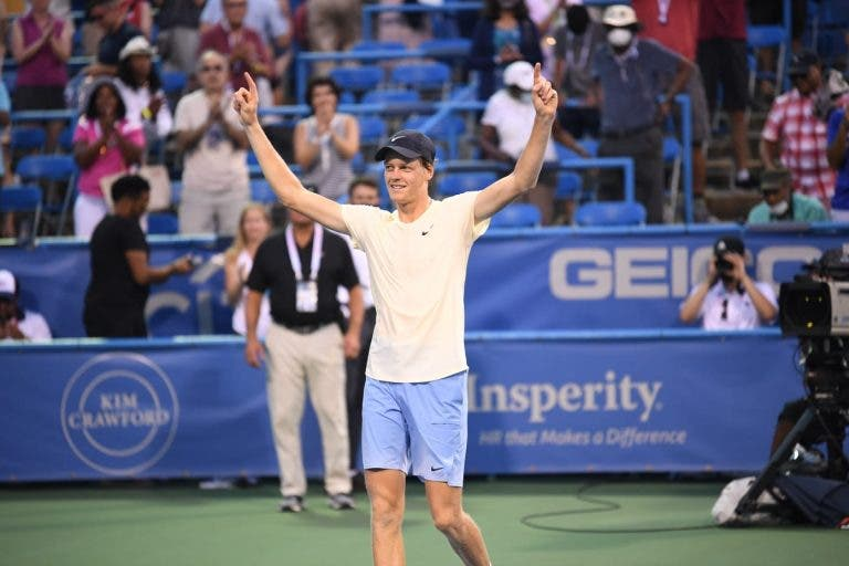 Sinner vence maior título da carreira em Washington após final fabulosa