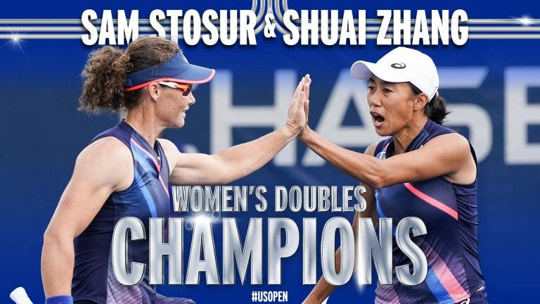 Stosur e Zhang batem Gauff/McNally e conquistam o US Open