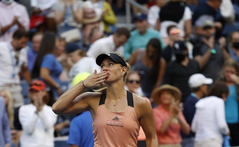 Kerber (campeã de 2016) ultrapassa Stephens (campeã de 2017) rumo aos 'oitavos' do US Open