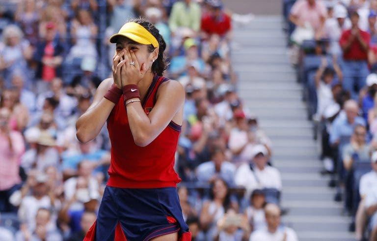 Raducanu e o épico US Open: «Tinha reservado voo de regresso para depois do qualifying»