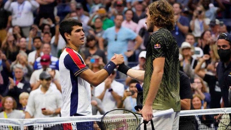 Alcaraz: «Se há algum jogador com quem sou parecido acredito que é Federer»