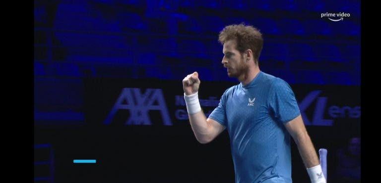 Murray volta a vencer em Metz e chega aos 'quartos' pela primeira vez quase dois anos depois