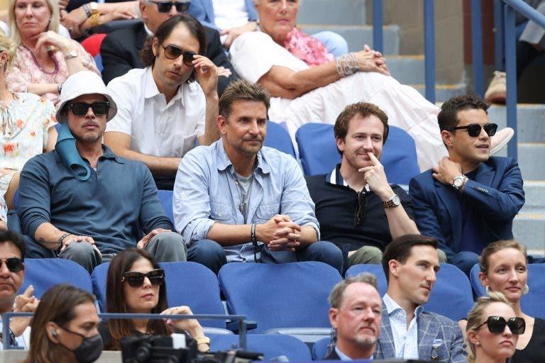 [FOTOS] Pitt, DiCaprio, Cooper e até Sharapova: ninguém quis história no US Open