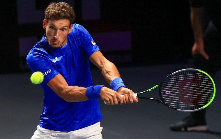Hurkacz e Carreño Busta disputam em Metz uma final importante na luta pelas ATP Finals