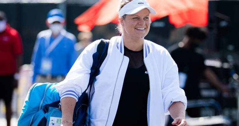 Clijsters emocionada: «Treinei muito para voltar a competir»