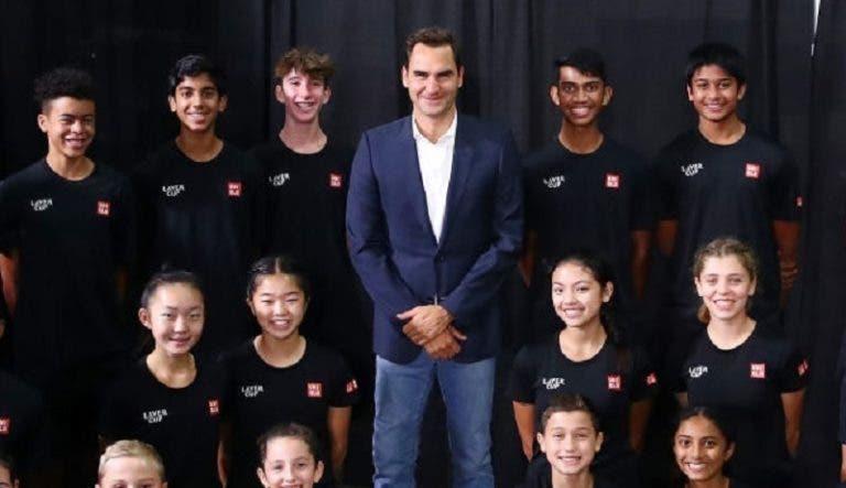 Federer revela o encontro da sua carreira em que estava… mais nervoso
