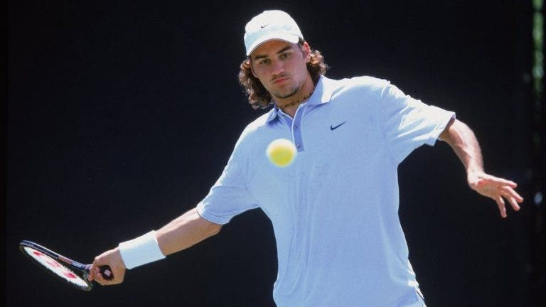 Federer estreou-se no ranking ATP há 24 anos: sabe como era o top 10 na altura?