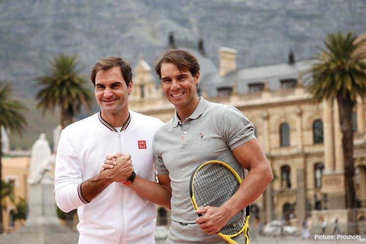 Federer brinca com Nadal: «Um dia espero meter os meus filhos na academia dele»
