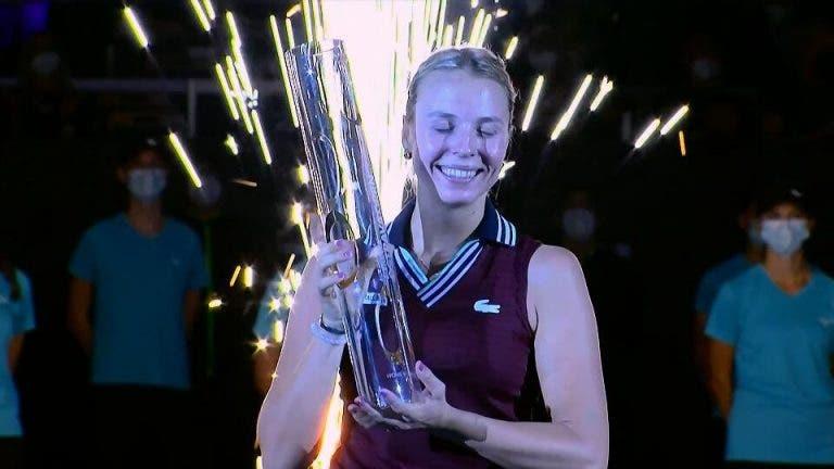 Kontaveit conquista maior título da carreira no WTA 500 de Ostrava