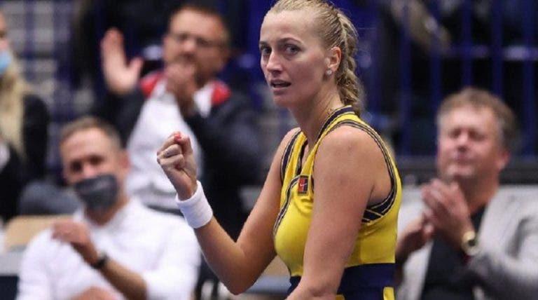 Swiatek e Kvitova triunfam rumo aos 'quartos' em Ostrava