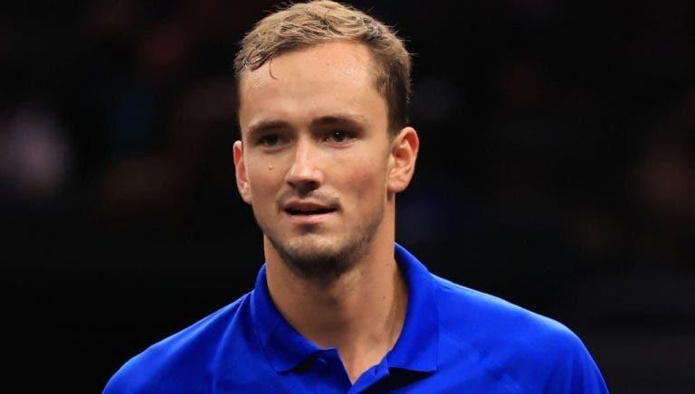 Medvedev: «Federer e Nadal envelheceram. É mais fácil defrontá-los»