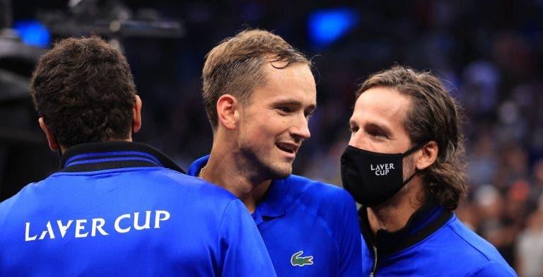 Medvedev: «Todos os nossos jogadores de singulares venceram, era mau se fosse eu a perder»