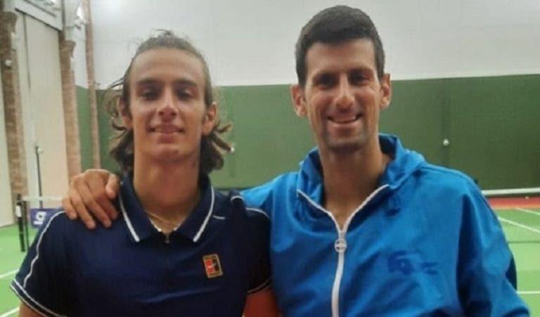 Djokovic teve gesto bonito para ajuda Musetti no US Open