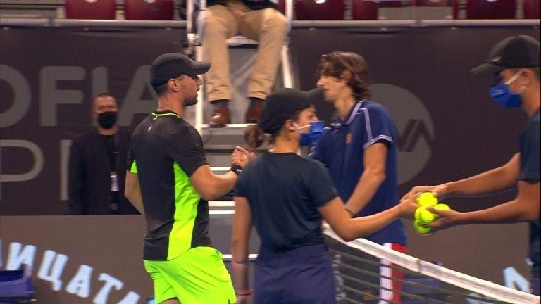Musetti surpreendido pelo número 226 ATP em Sófia