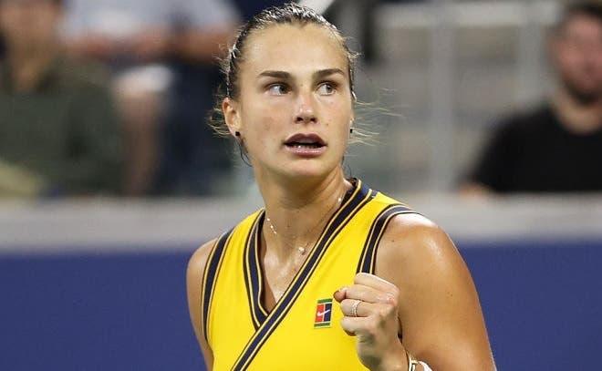 Minutos depois de bater Krejcikova, Sabalenka… foi treinar