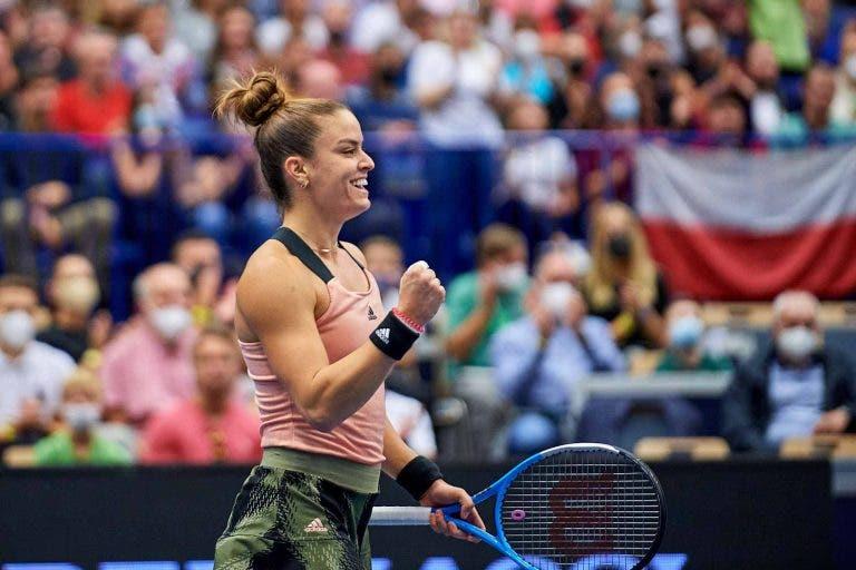 Sakkari avança em Moscovo e carimba lugar nas WTA Finals, Kontaveit continua a sonhar