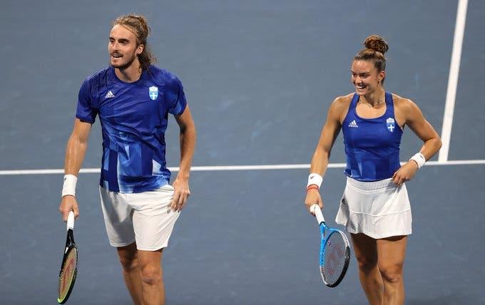 Inédito: Tsitsipas e Sakkari fazem o que nunca tinha sido feito na história do ténis grego