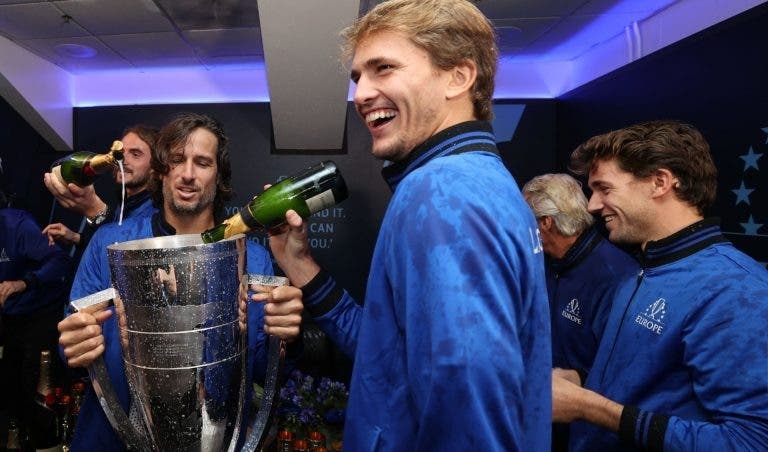 Zverev e Medvedev dão show na conferência após vencer a Laver Cup: «Podes calar-te um pouco?»