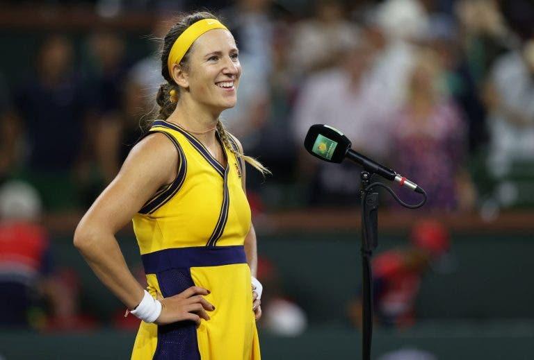 Azarenka pronta para a terceira final em Indian Wells: «Não vejo isso como uma vantagem»