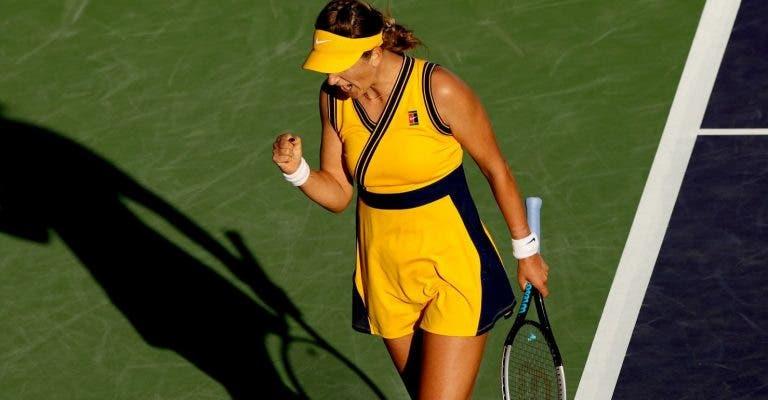 'Vintage' Vika Azarenka regressa às meias-finais em Indian Wells