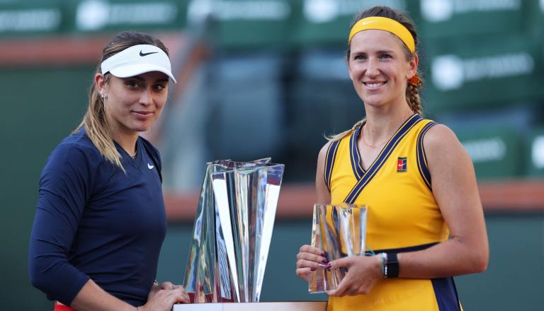 Azarenka e as palavras de Badosa: «Também jogo ténis para inspirar os outros. Emocionei-me»