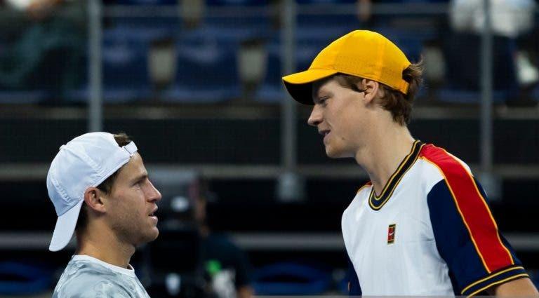 Schwartzman: «Sinner está destinado ao topo do ténis mundial»