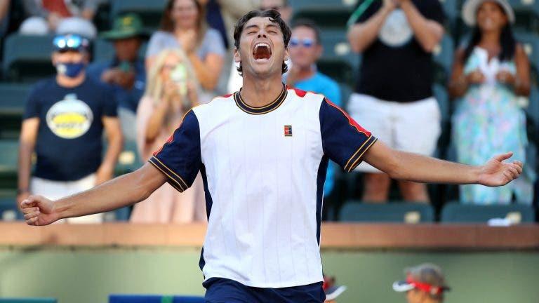Fritz continua a brilhar em casa e estreia-se em quartos-de-final de Masters 1000