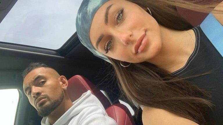 Polícia acaba com intensa discussão entre Kyrgios e namorada durante a quarentena na Austrália
