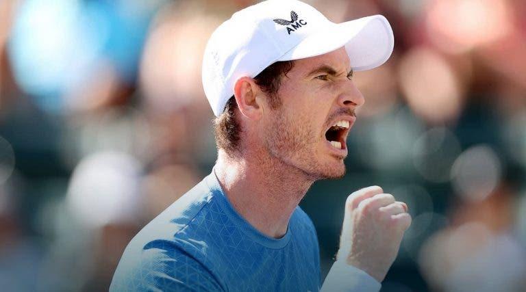 Murray pronto para a glória: «Não há nada que me impeça de pensar em ganhar um título»
