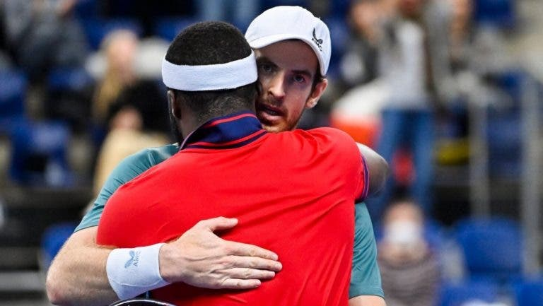 Tiafoe deixa mensagem bonita a Murray: «És o maior competidor que conheço»