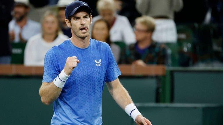 Jogaço! Murray vence Alcaraz em incrível batalha de três horas e segue firme em Indian Wells